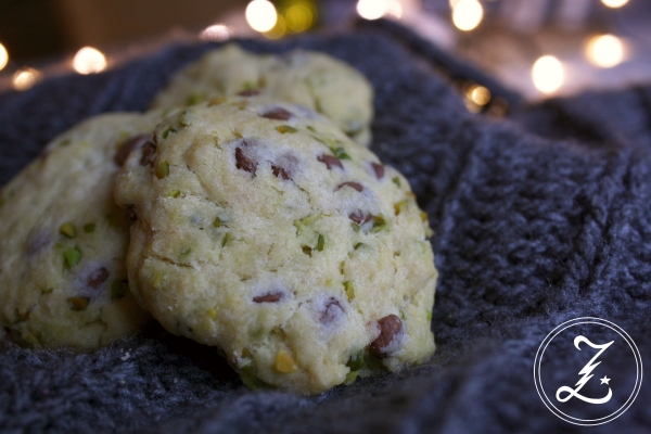 Schoko-Pistazien-Cookies by Zuckergewitter
