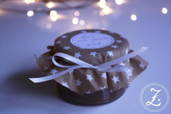 Birnenkonfitüre mit Vanille und Zimt by Zuckergewitter