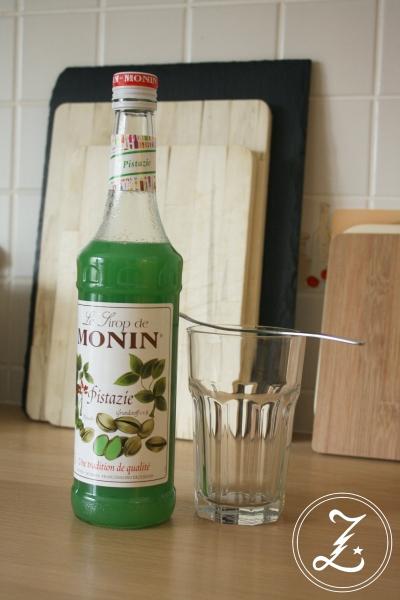 Monin Pistazien-Sirup by Zuckergewitter