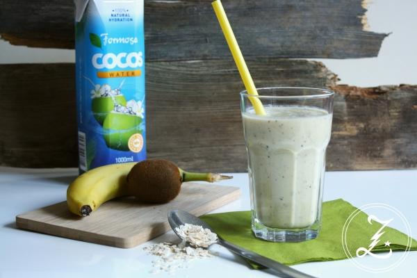 Kiwi-Banane-Kokos-Smoothie by Zuckergewitter