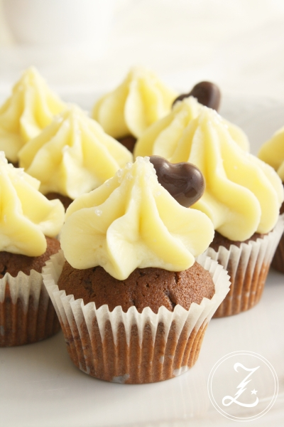 Triple Chocolate Mini Cupcakes by Zuckergewitter