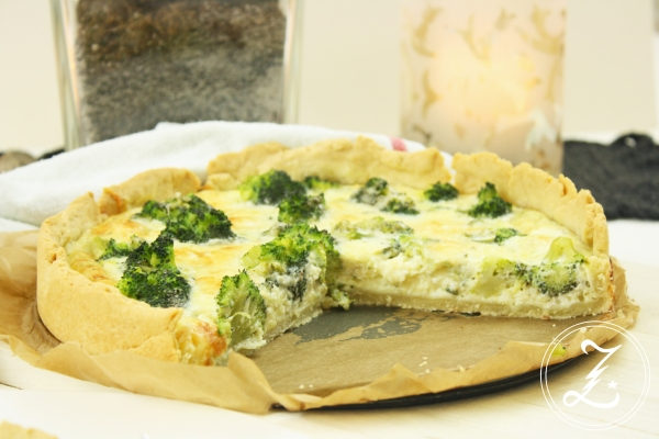 Brokkoli-Quiche by Zuckergewitter