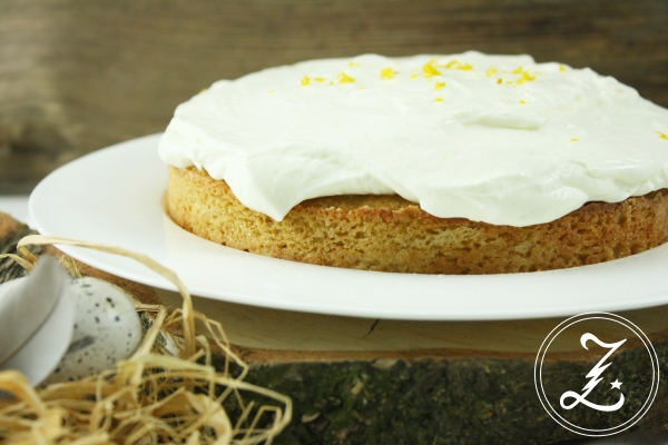 Ichbacksmir Mandel Aprikosen Kuchen Mit Quark Sahne Frosting