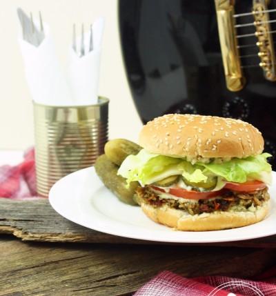 Veggie Burger by Zuckergewitter