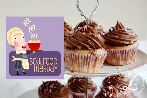 Schoko-Cupcakes für Soulfood Tuesday by Zuckergewitter