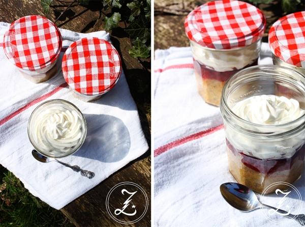 Preiselbeer-Torte im Glas by Zuckergewitter