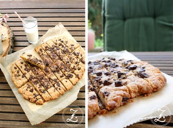 Cookie Sticks mit Erdnussbutter und Schokolade by Zuckergewitter