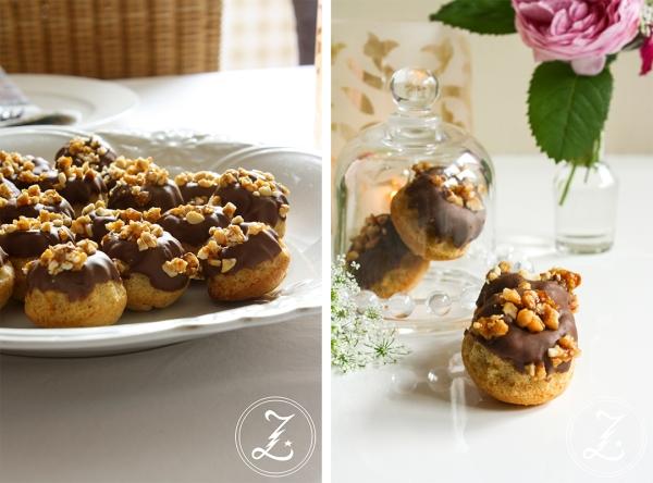Erdnuss-Minigugl mit Haselnusscrunch | Zuckergewitter.de
