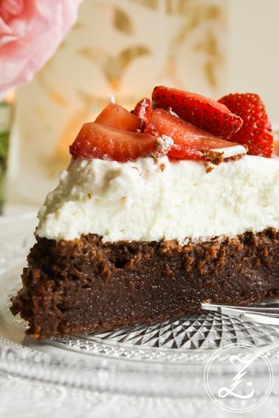 Erdbeer-Brownie-Torte | Zuckergewitter.de