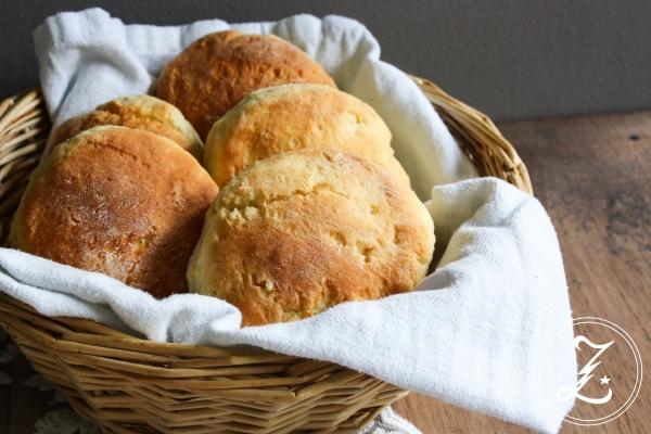 schnell gemachte Quarkbrötchen | Zuckergewitter.de