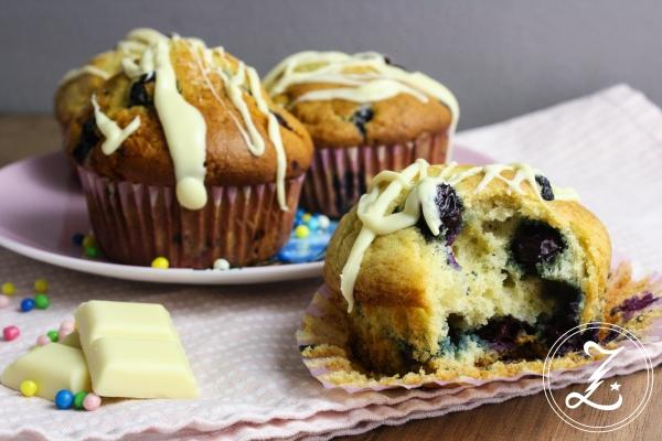 Blueberry Muffins Subway Style | Zuckergewitter.de