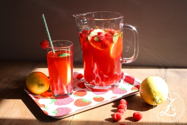 Green Raspberry Iced Tea | Zuckergewitter.de