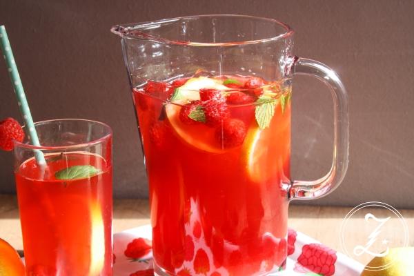Green Raspberry Iced Tea | Zuckergewitter.de