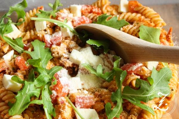 italienischer Nudelsalat | Zuckergewitter.de
