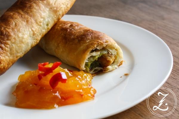 Pistazien-Hähnchen-Taschen mit Mango Chutney | Zuckergewitter.de