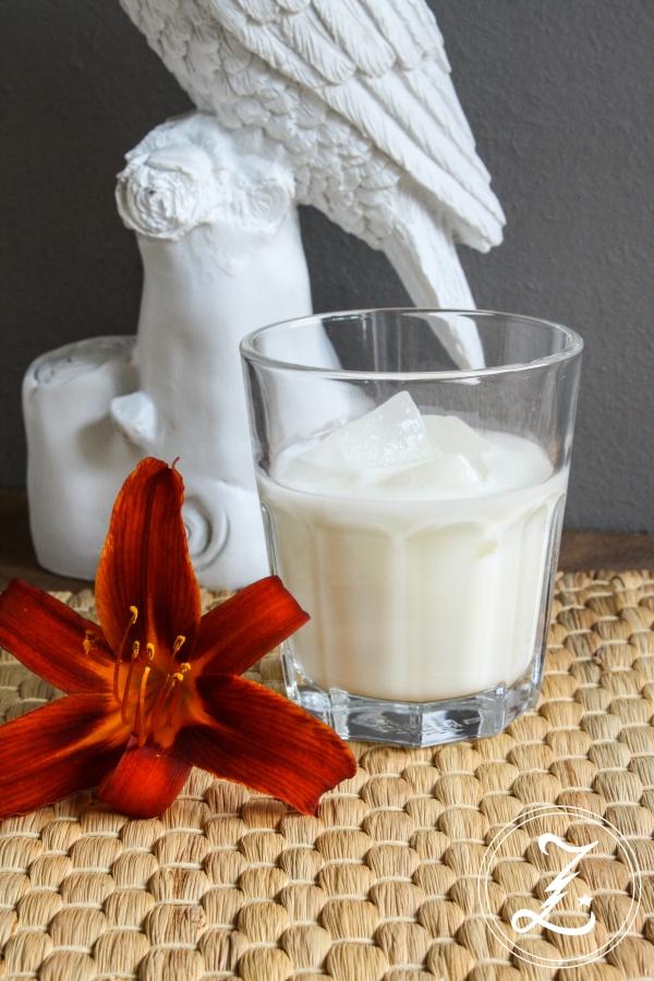 Batida de Coco selbst gemischt aus nur 3 Zutaten| Zuckergewitter.de