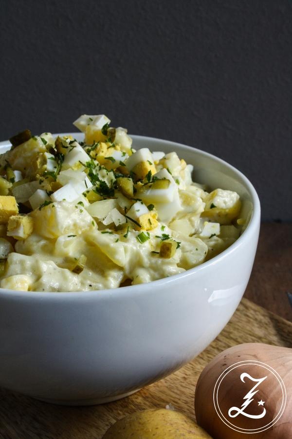 leichter Kartoffelsalat | Zuckergewitter.de
