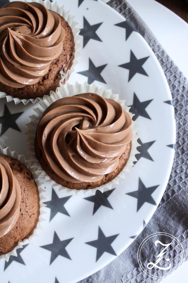 Schoko-Karamell-Cupcakes | Zuckergewitter.de