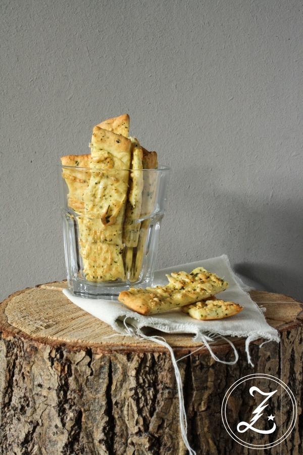 Kräuter-Käse-Stäbchen | Zuckergewitter.de
