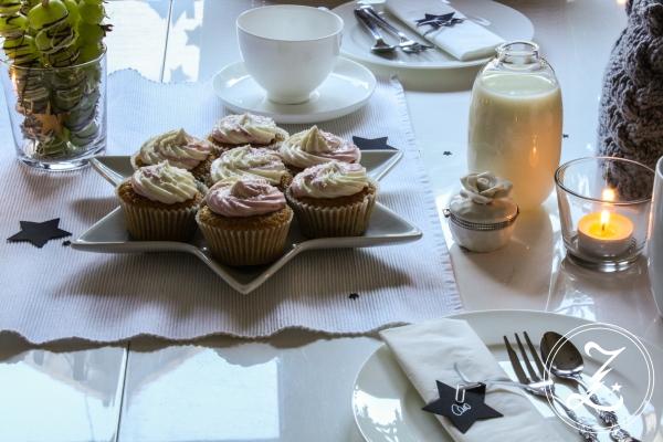 Chaicupcakes mit Erdbeer-Frischkäse-Frosting | Zuckergewitter.de