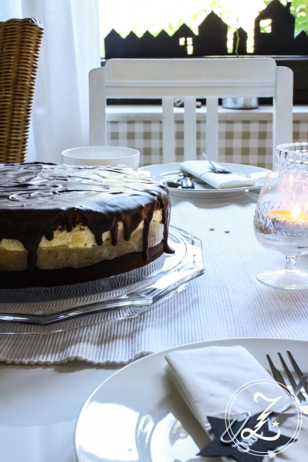 Birne-Zabaione-Torte | Zuckergewitter.de