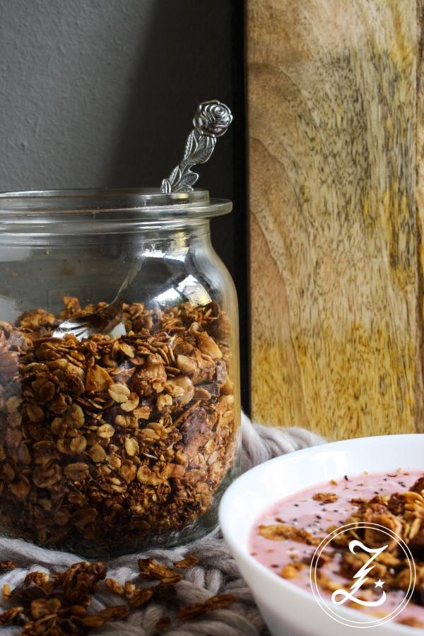 einfaches Nuss-Schoko-Müsli - super für Anfänger geeignet | Zuckergewitter.de