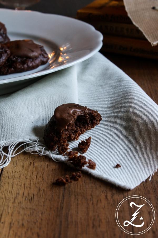 Schoko-Frischkäse-Cookies | Zuckergewitter.de