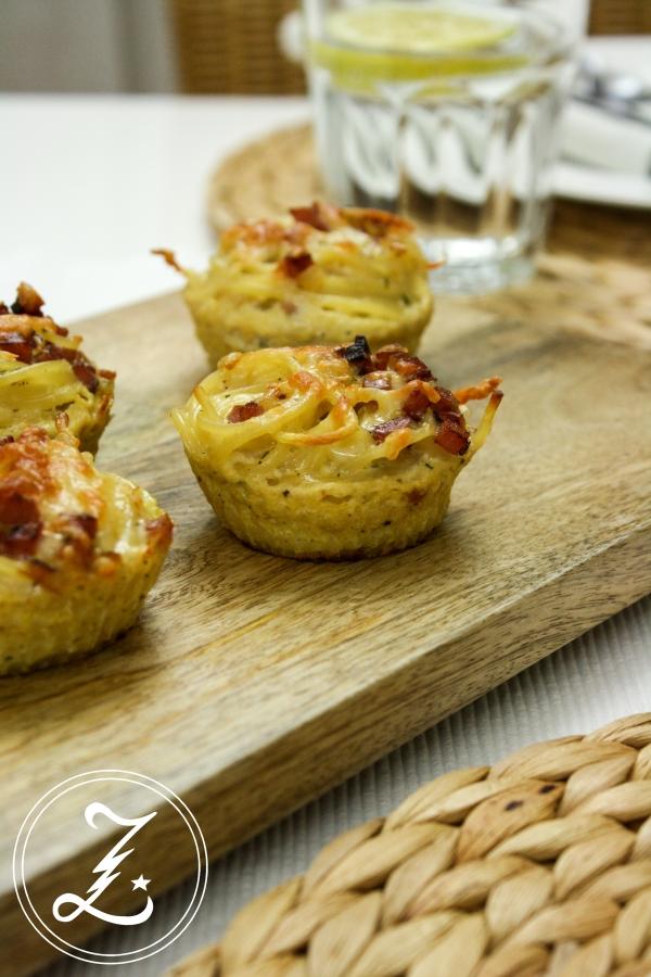 köstliche Nudelmuffins | Zuckergewitter.de