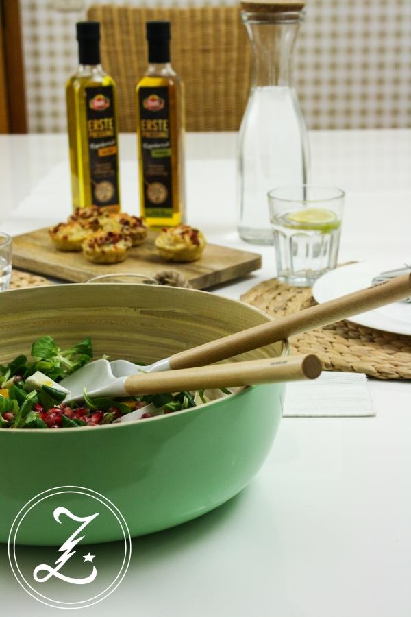 köstliche Nudelmuffins mit herbstlichem Salat| Zuckergewitter.de