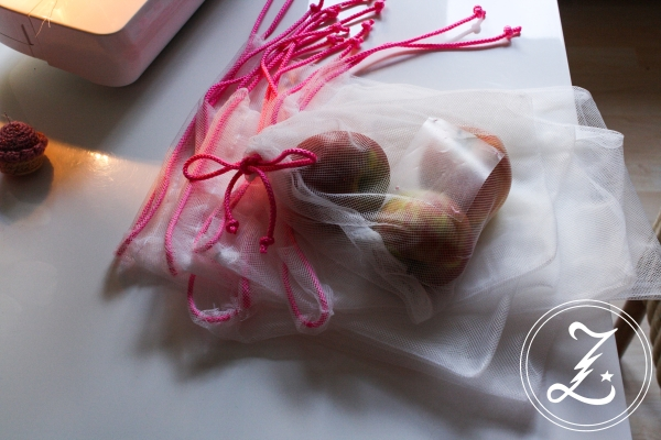 DIY für blutige Anfänger - selbst genähte Beutel für Obst und Gemüse für weniger Plastikmüll | Zuckergewitter.de
