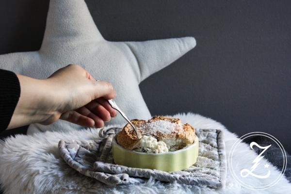 #ichbacksmir Bananen-Quark-Auflauf mit Kokos-Schneemütze | Zuckergewitter.de