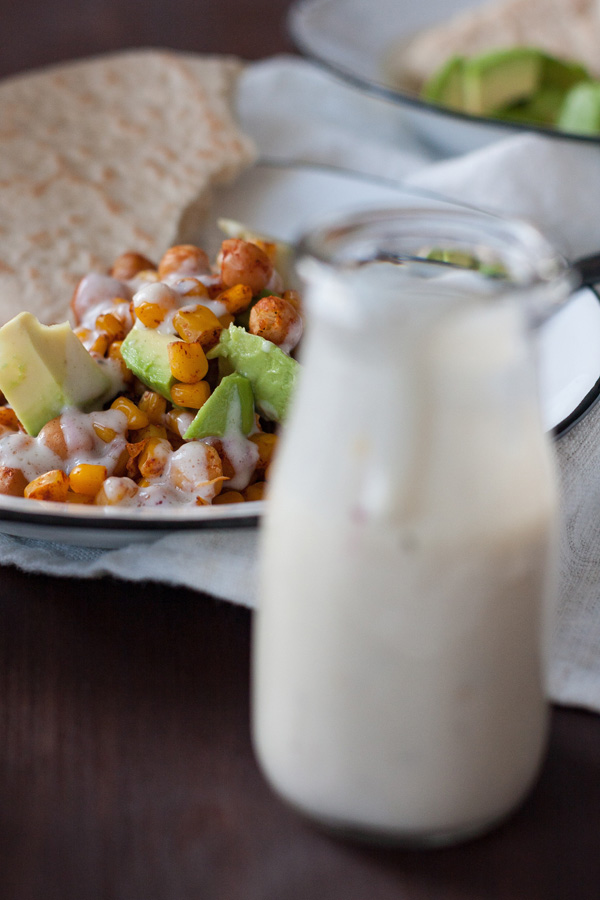 Kichererbsen-Mais mit Pitabrot vom Kochkarussell | Zuckergewitter.de
