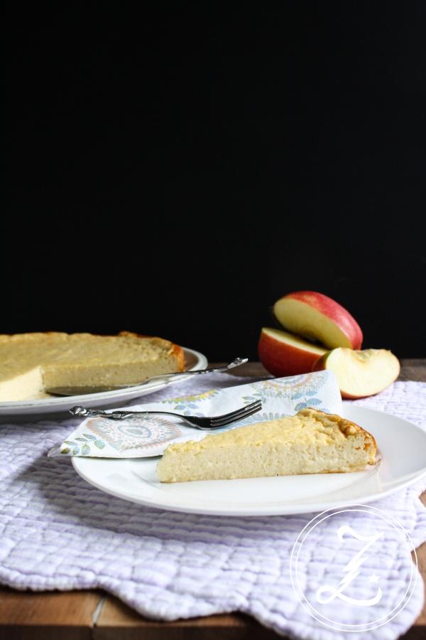 leichter Apfelmus-Käsekuchen | Zuckergewitter.de