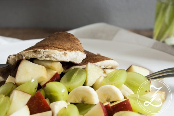 dekadent und gesund zugleich in den Tag starten - mit Bananen-Quark-Pancakes   Zuckergewitter.de