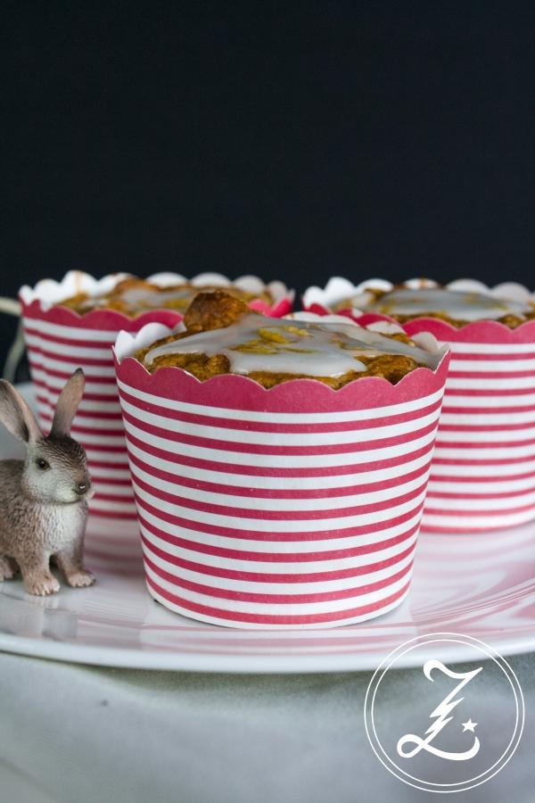 leichte Rübli-Muffins - ein Klassiker entschäft | Zuckergewitter.de