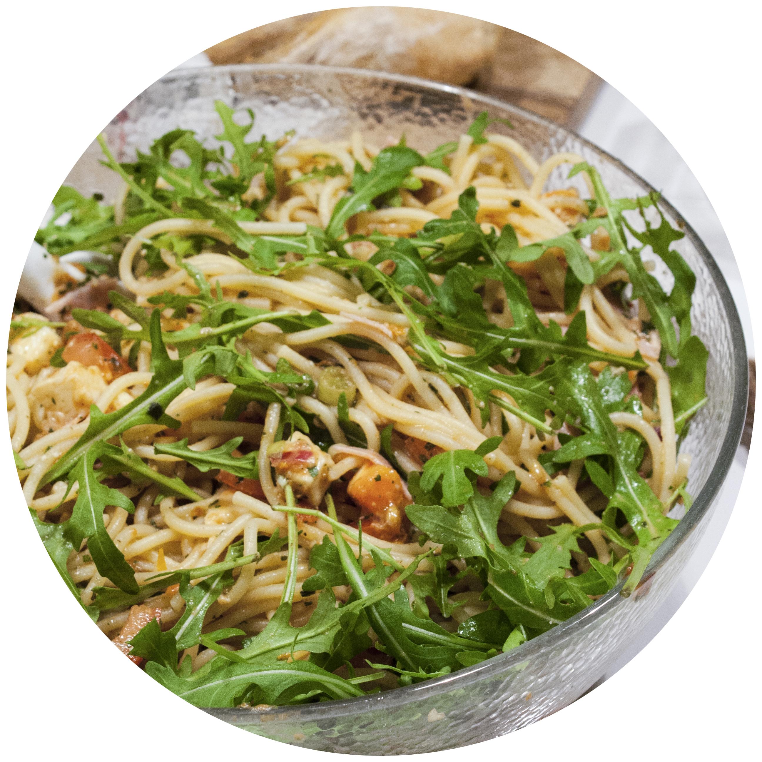 leichter Nudelsalat auf italienische Art | Zuckergewitter.de
