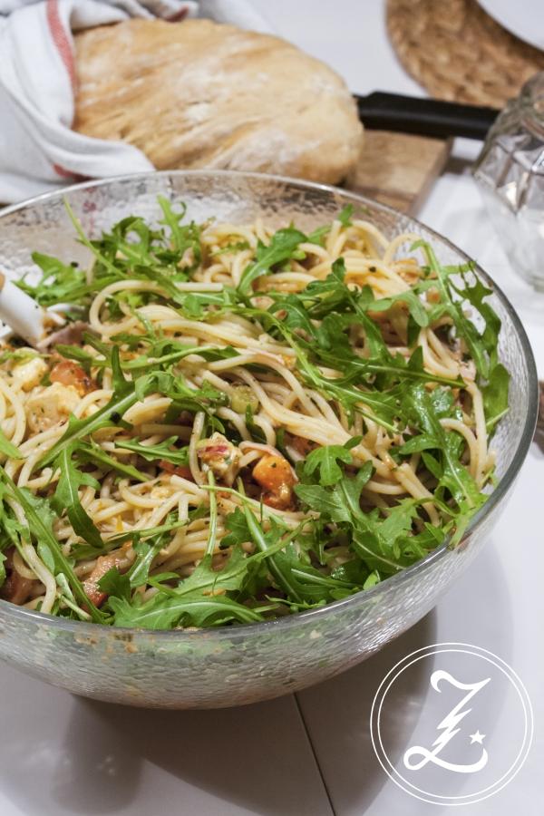 leichter Nudelsalat italienische Art | Zuckergewitter.de