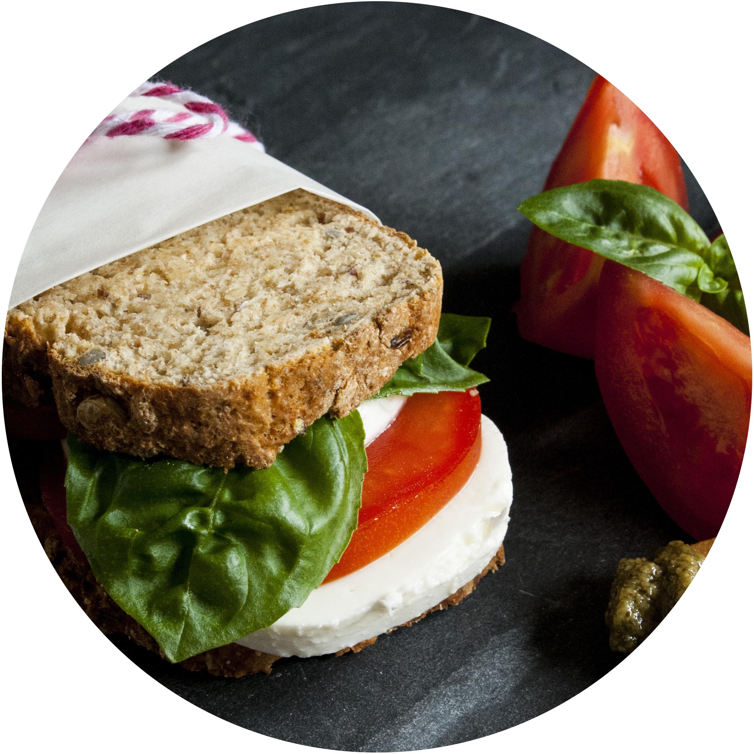 Unterwegs mit einem ordentlichen Butter- äh – Quarkbrot-Sandwich | Zuckergewitter.de